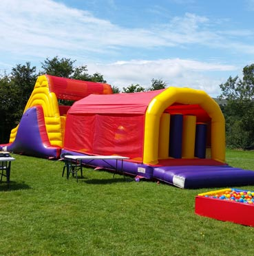 Big Obstacle Course for Hire in Midleton
