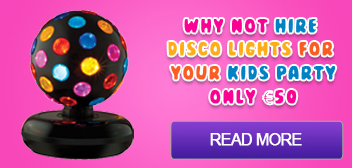 disco lights hire, djs, kids entertainment